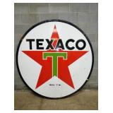 6FT. TEXACO PORC SIGN