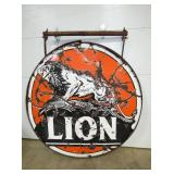 5FT. LION PORC SIGN W/ HANGER