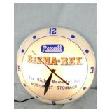 REXALL DOUBLE BUBBLE CLOCK