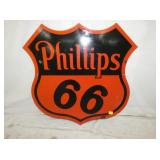 30IN PORC PHILLIPS 6 SHIELD SIGN