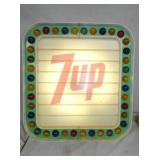 22X23 UNUSUAL LIGHTED 7UP MENU