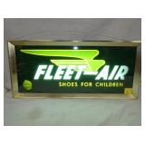 FLEET AIR SHOES COUNTER SIGN