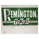 16X32 EMB. REMINGTON TIRES SIGN