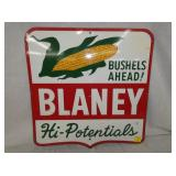 20X20 1/2 EMB. BLANEY CORN SIGN