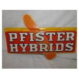 12X18 PFISTER HYBRIDS CORN SIGN