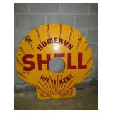 48IN PORC. SHELL SIGN