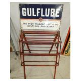 22X42 GULFLUBE OIL RACK