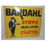 VIEW 2 BARDAHL STOPS CLATTER SIGN