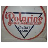 VIEW 2 CLOSEUP POLARINE SIGN