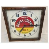 16IN  RC WOODEN FRAME CLOCK