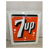 32X36 EMB. 7UP STOUT SIGN