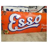 VIEW 2 CLOSEUP PORC. ESSO SIGN