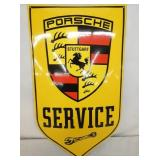 14X23 PORC. PORSCHE DEALER SIGN-SUN.