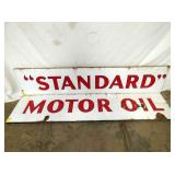 11X51 PORC. STANDARD MOTOR OIL SIGN
