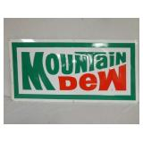 18X36 NOS EMB. MOUNTAIN DEW