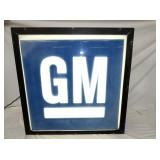 LIGHTED GM CAN SIGN