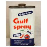1 PINT GULF SPRAY TIN