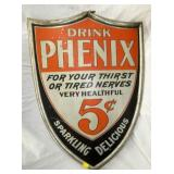 18x27 5CENT DRINK PHENIX SHEILD SIGN