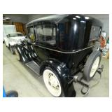 REAR VIEW MODEL A W/ SPARE TIRE