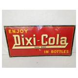 18X36 DIXI COLA TIN SIGN