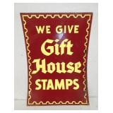 20X28 GIFT HOUSE STAMPS TIN SIGN
