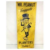 16X41 MR. PEANUT PLANTERS VERTICAL SIGN