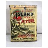 RARE ISLAND MIXTURE TOBACCO TIN
