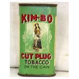 KIMBO CARDBOARD TOBACCO TIN