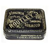 ROUTLEYS TOBACCO TIN VA