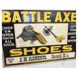 VIEW 2 CLOSEUP TIN BATTLE AXE SHOES