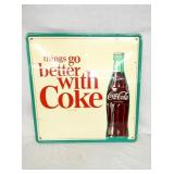 24X24 NOS BETTER W/ COKE SIGN