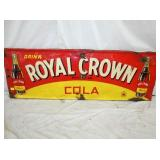 18X54 1941 EMB. ROYAL CROWN COLA SIGN