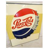 VIEW 2 CLOSEUP PEPSI COLA SIGN 1956