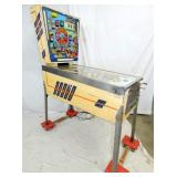 VIEW 4 SIDEVIEW EARLY PINBALL MACHINE