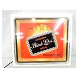 BLACK LABEL BEER LIGHTED SIGN