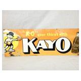 9X24 KAYO DRINK SIGN
