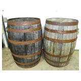 EARLY WOODEN WHISKEY BARRELS