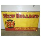 34X58 NEW HOLLAND CARDBOARD SIGN