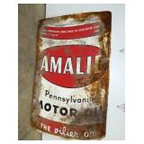 36X55 AMALIE MOTOR OIL SIGN
