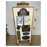27X70 COUNTRY STORE STREET SIGN DISPLAY
