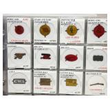 COLLECTION 1870-1930 100 TOBACCO TAGS