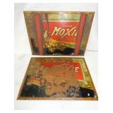 (2) 13X18 1/2 EARLY MOXIE DRINK SIGNS