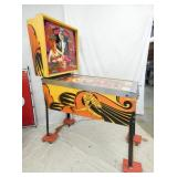 VIEW 3 SIDE BALLY MATA HARI PINBALL