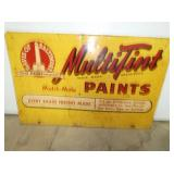 19X30 MULTITINT PAINTS SIGN