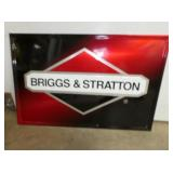 23X35 BRIGGS & STRATTON EMB. SIGN