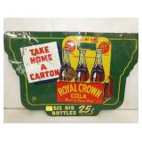 16X24 ROYAL CROWN SWINGER SIGN