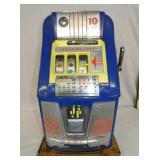 MILLS BLUE BELL 10CENT SLOT MACHINE