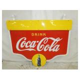 49X60 COCA COLA STATION SWINGER SIGN