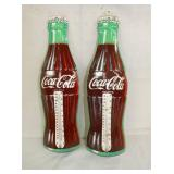 NOS DIE CUT COKE BOTTLE THERMS.
