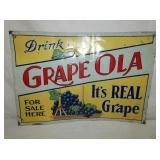 14X19 GRAPE OLA DRINK SIGN